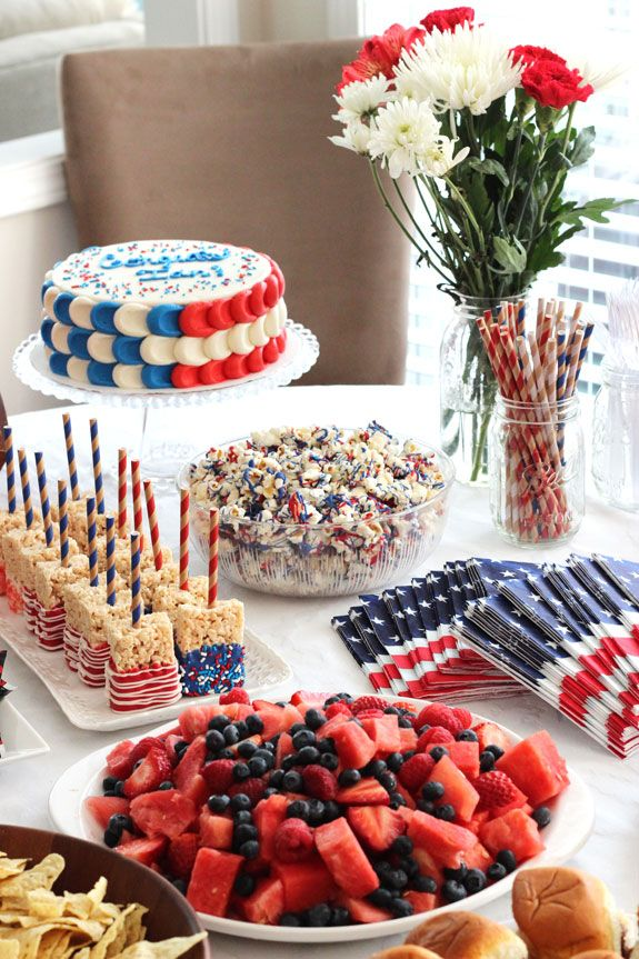 40 Easy 4th Of July Recipes Fourth Of July Party Food Ideas