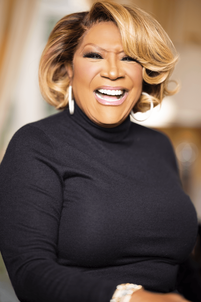 patti labelle laughing at the camera
