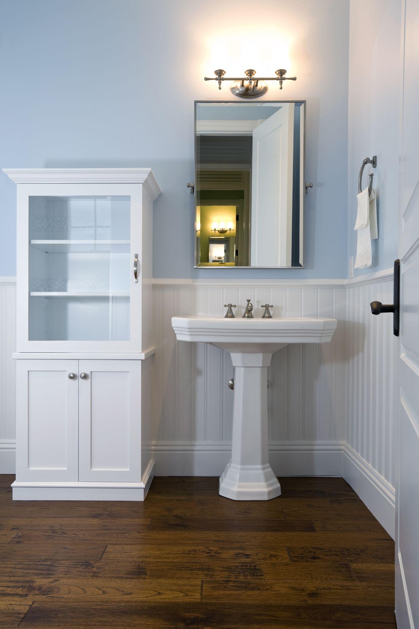 pedestal sink design ideas 10