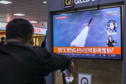 North Korea Fire Unidentified Projectiles Into Sea
