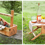 This Wine Tote That Transforms Into A Portable Picnic Table Is A Summer Must Have