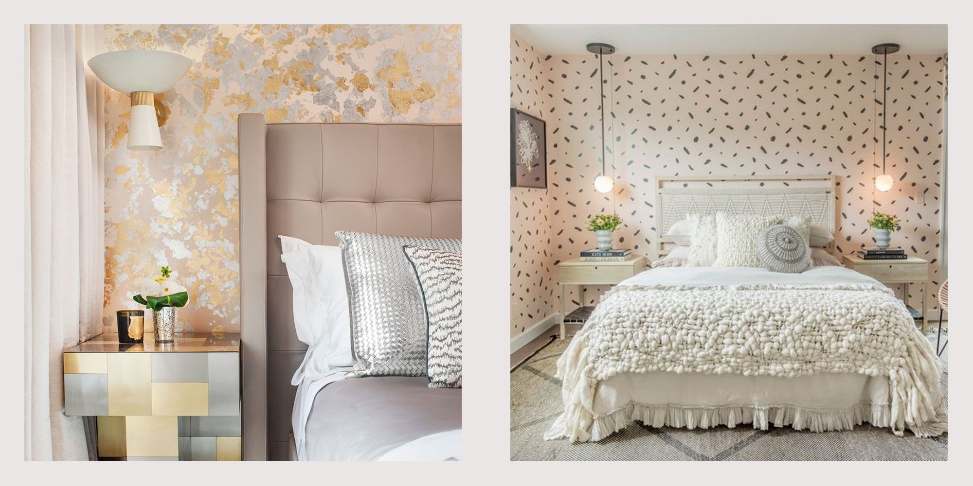 15 pink and gray bedroom ideas