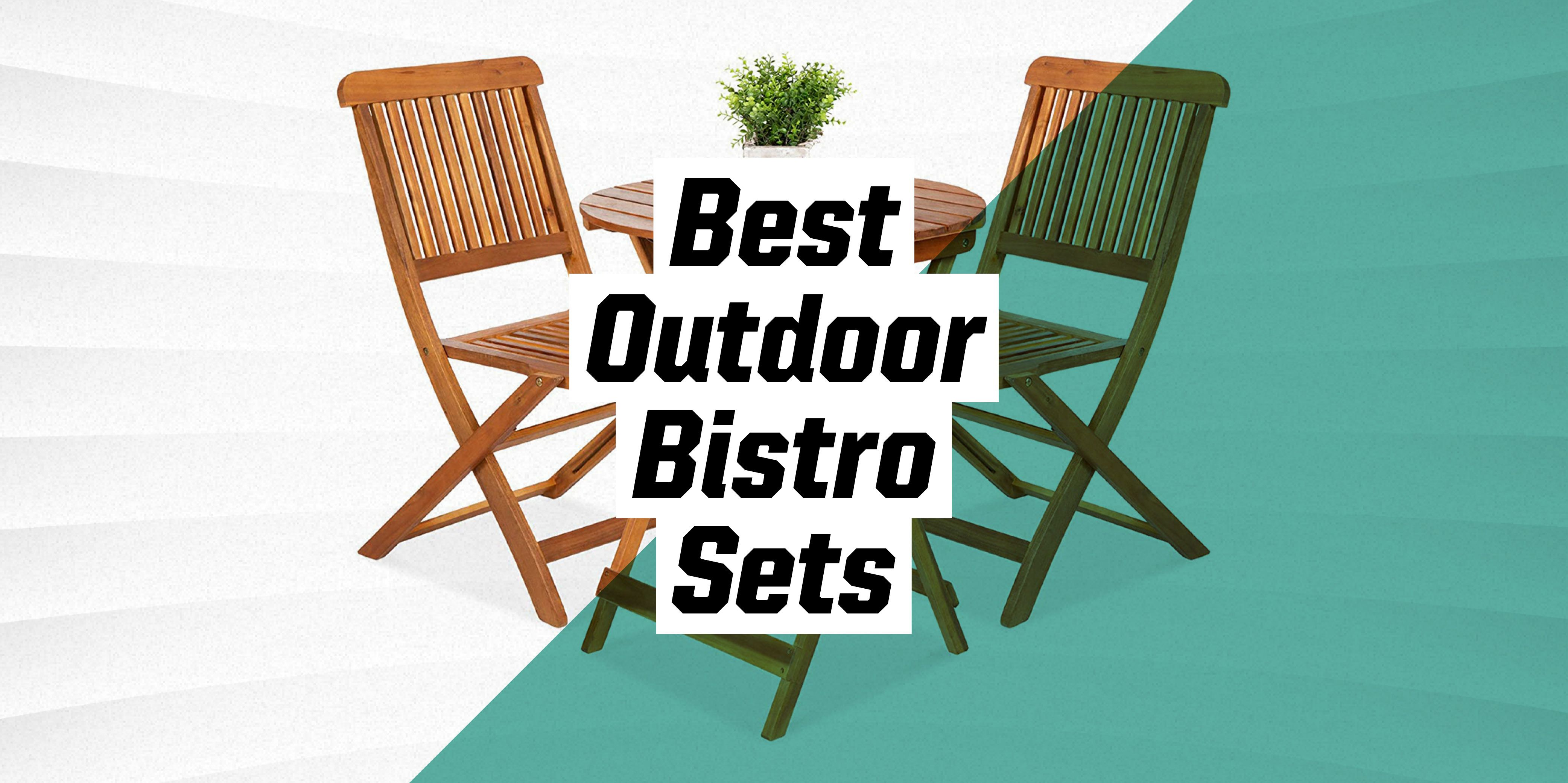 10 beautiful highly rated outdoor bistro sets
