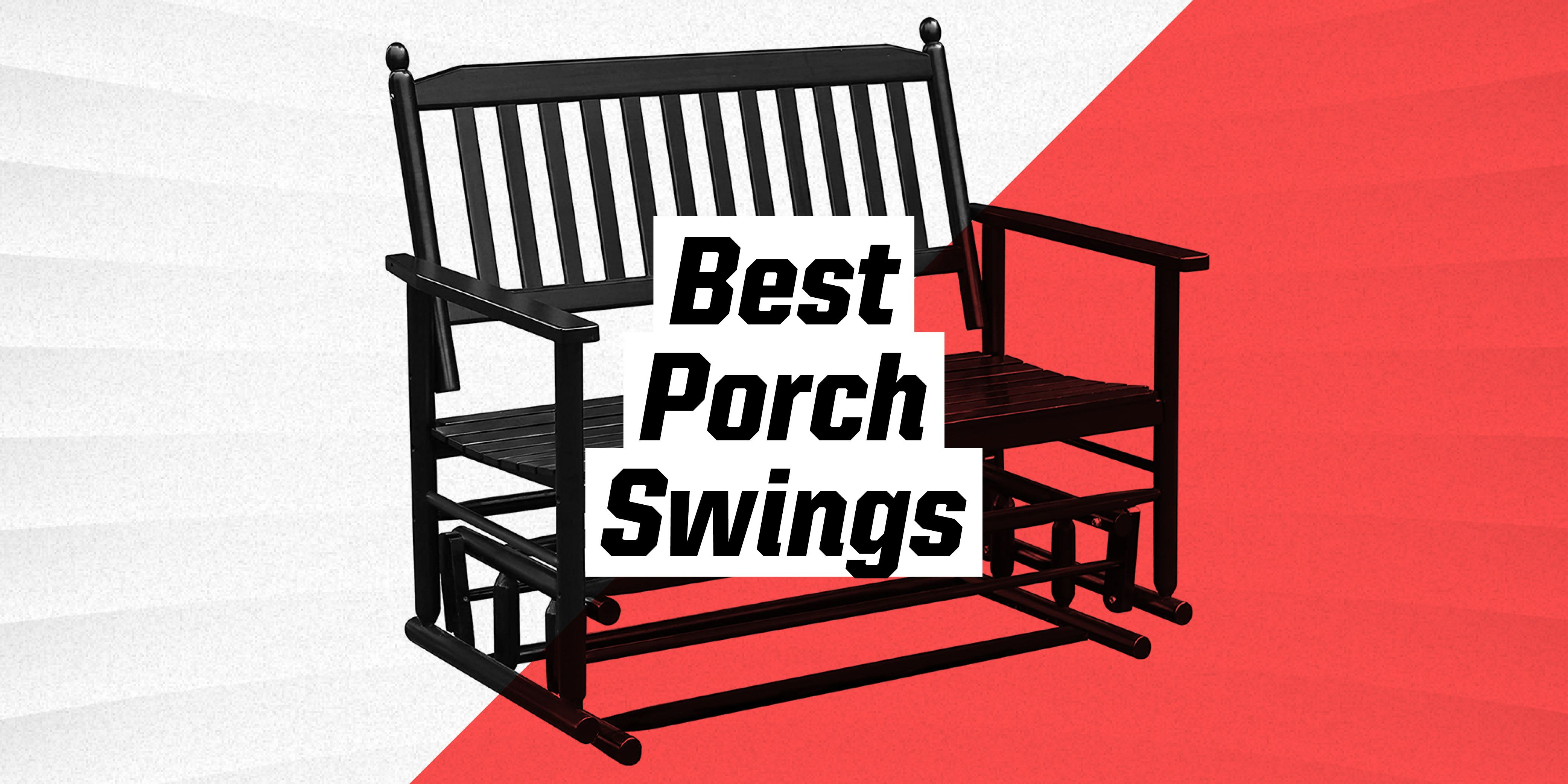 these 10 porch swings make your patio feel like home
