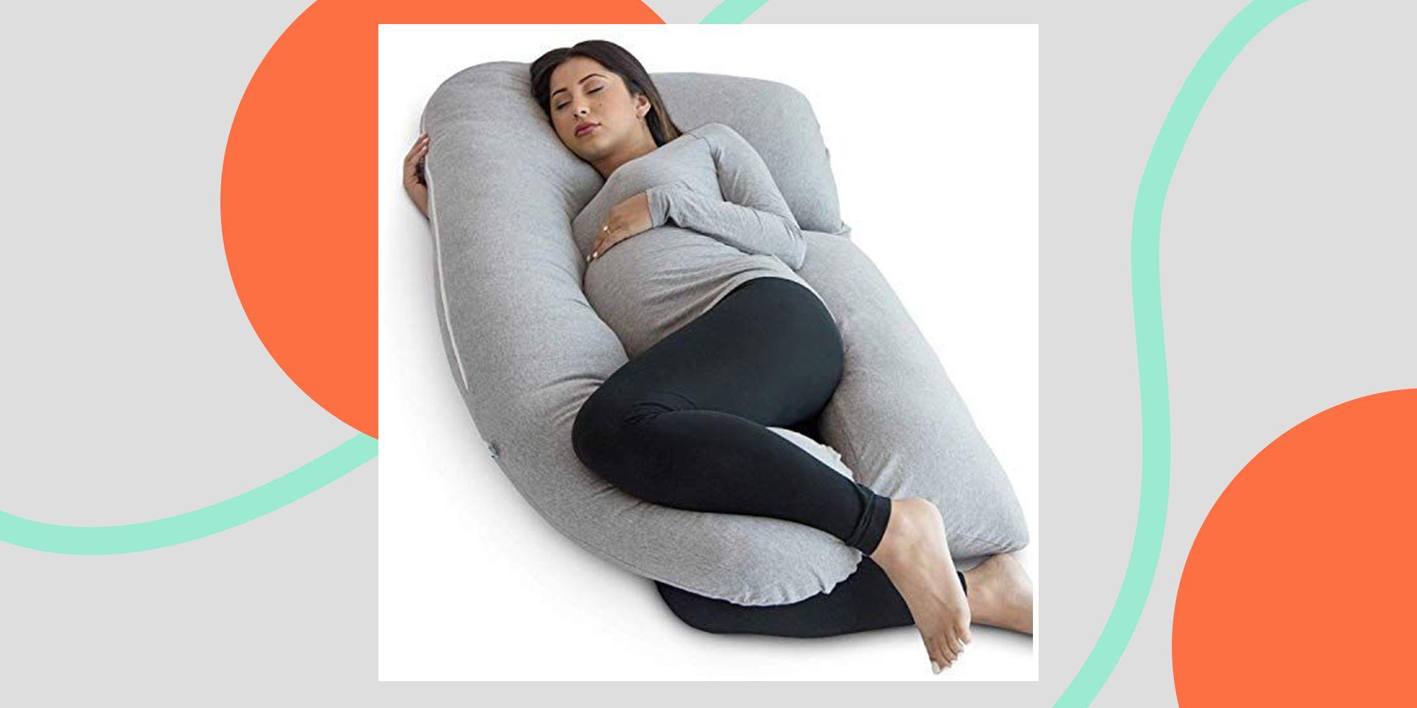 amazon s 1 pregnancy pillow has over 22k 5 ratings