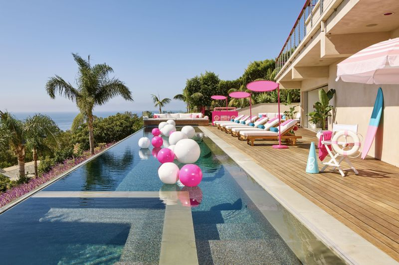 You Can Stay At A Real-Life Barbie Malibu Dreamhouse, Fully Stocked Kitchen Included