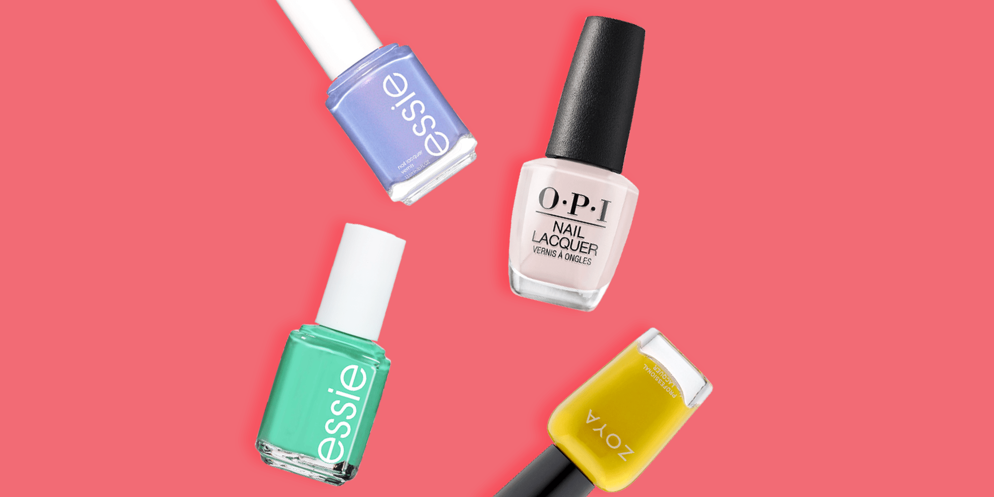 12 Best Spring Nail Colors 2020 Cute Pastel Nail Polish Trends