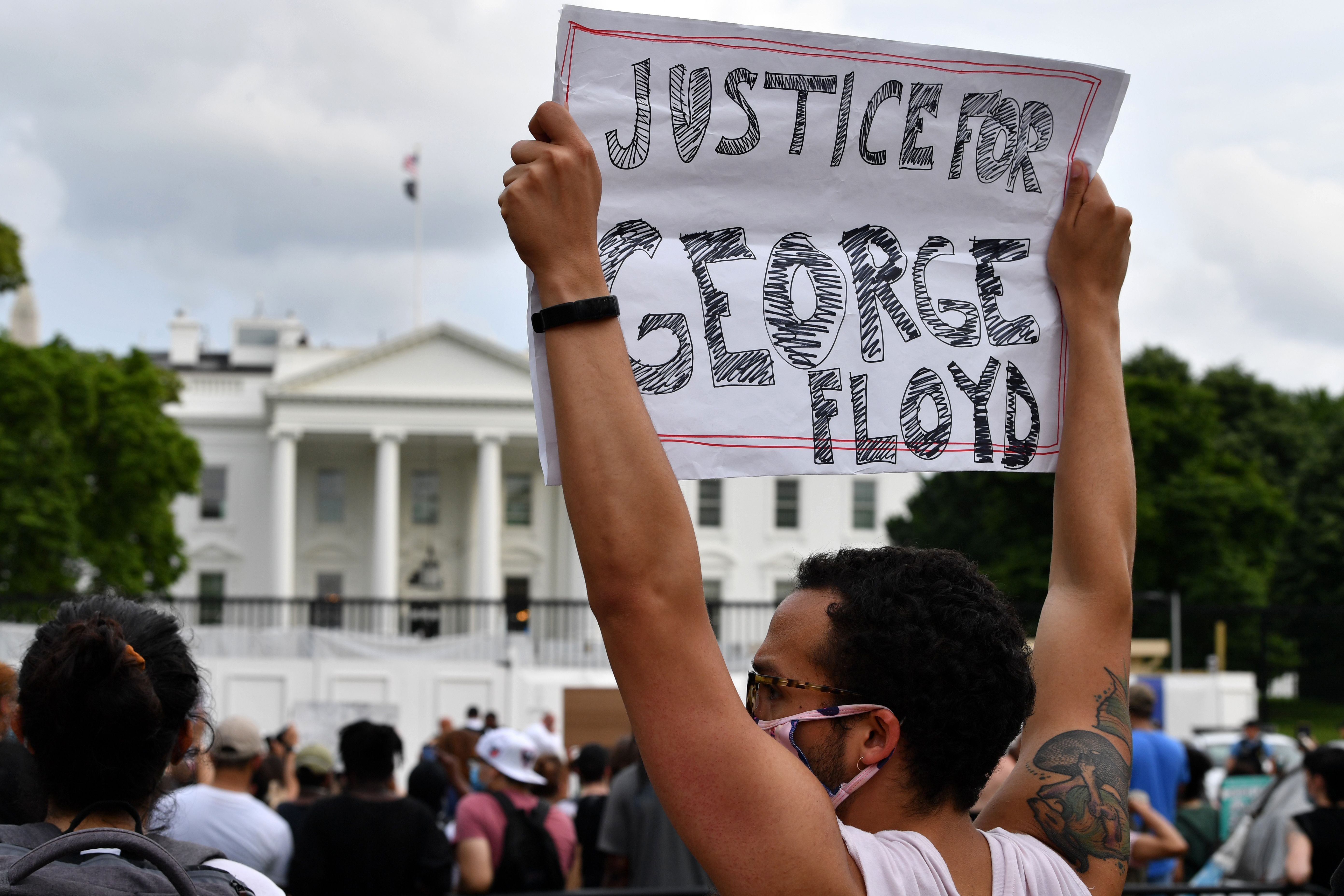 Photo of 60 powerful and peaceful moments from George Floyd's protests