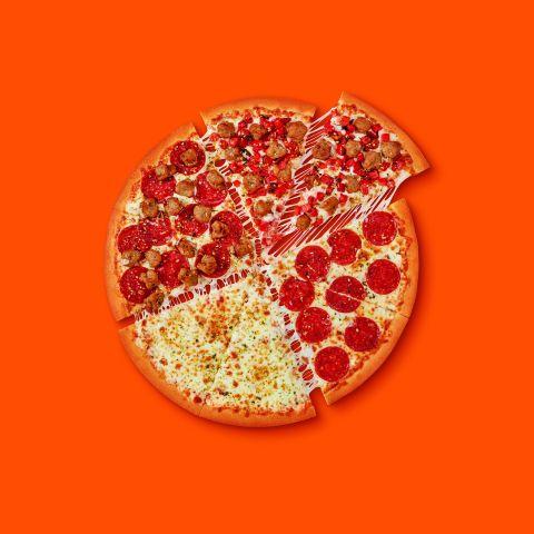 Little Caesars Quattro Pizza Comes
