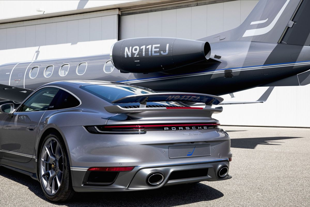 Porsche 911 Turbo S to Match Your Private Jet? Finally Available