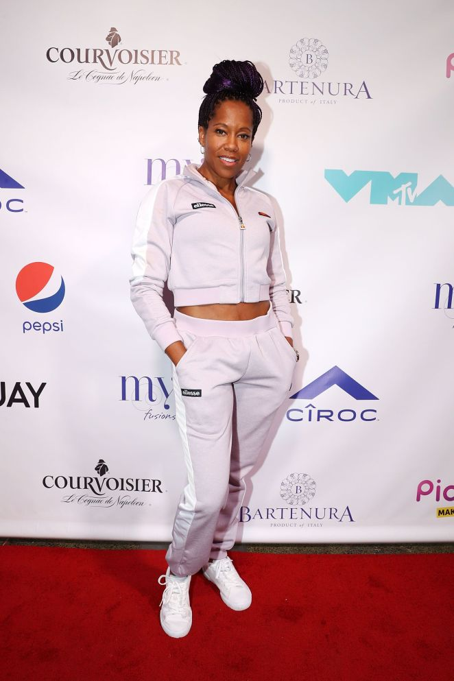 Image result for REGINA KING AT MISSY ELLIOT'S VMA AFTER PARTY, 2019