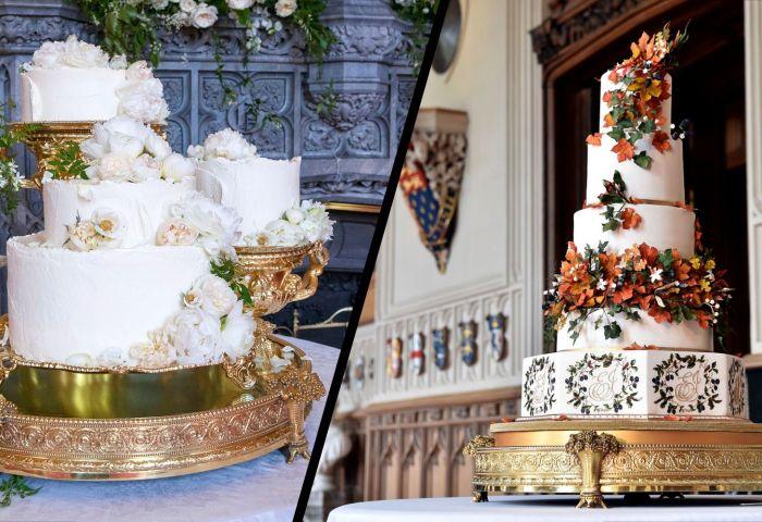 Royal Wedding Cake How Princess Eugenies Wedding Cake Compares To