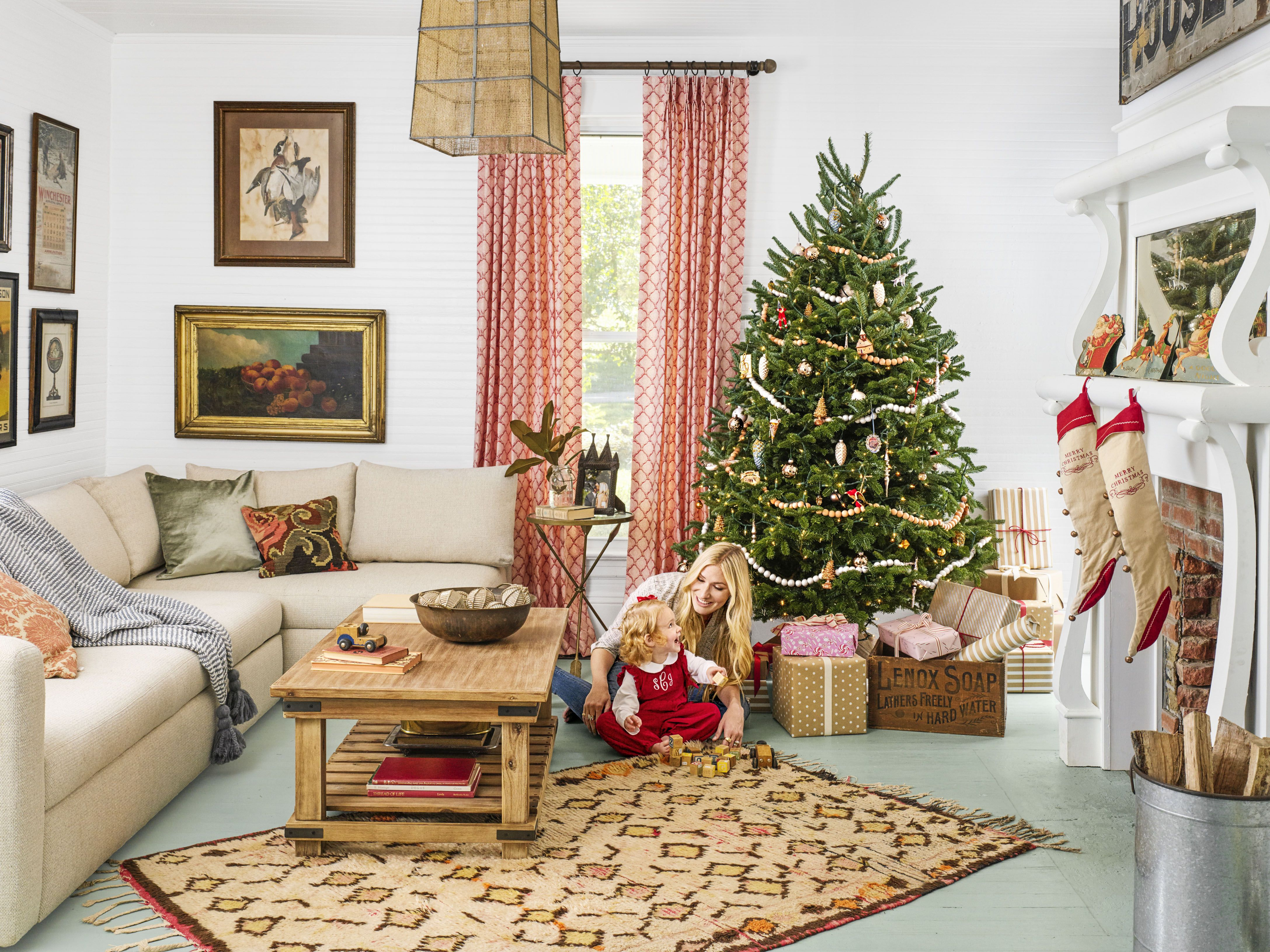 20 Rustic Christmas Trees Ideas For Country Decorations