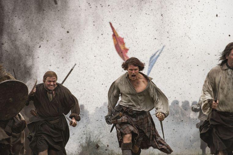 Jamie Fraser Outlander Sam Heughan