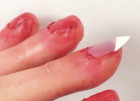 Warning This Nail Art Might Make You Vom