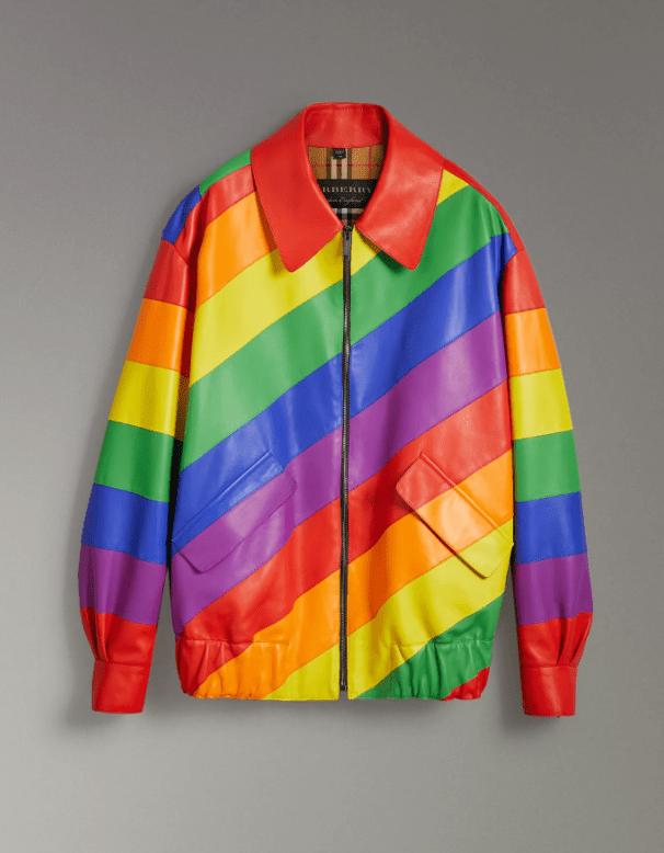 Burberry Rainbow Check