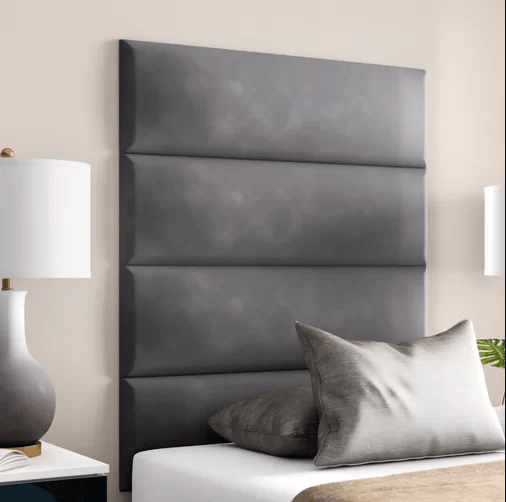 modern bed headboard cushion design