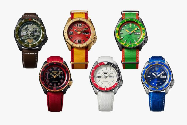 seiko streetfighter collection