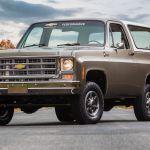 Chevrolet K5 Blazer E Antiguo Por Fuera Electrico Por Dentro