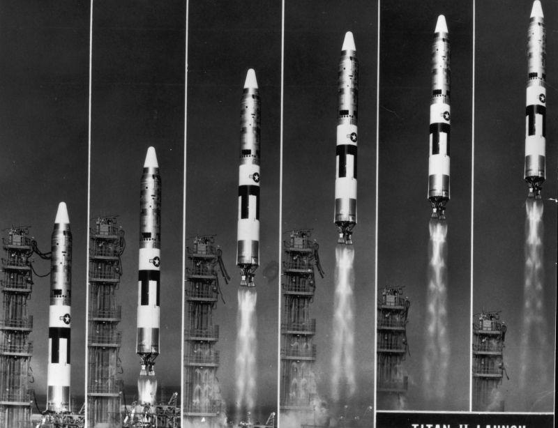 titan ii launch