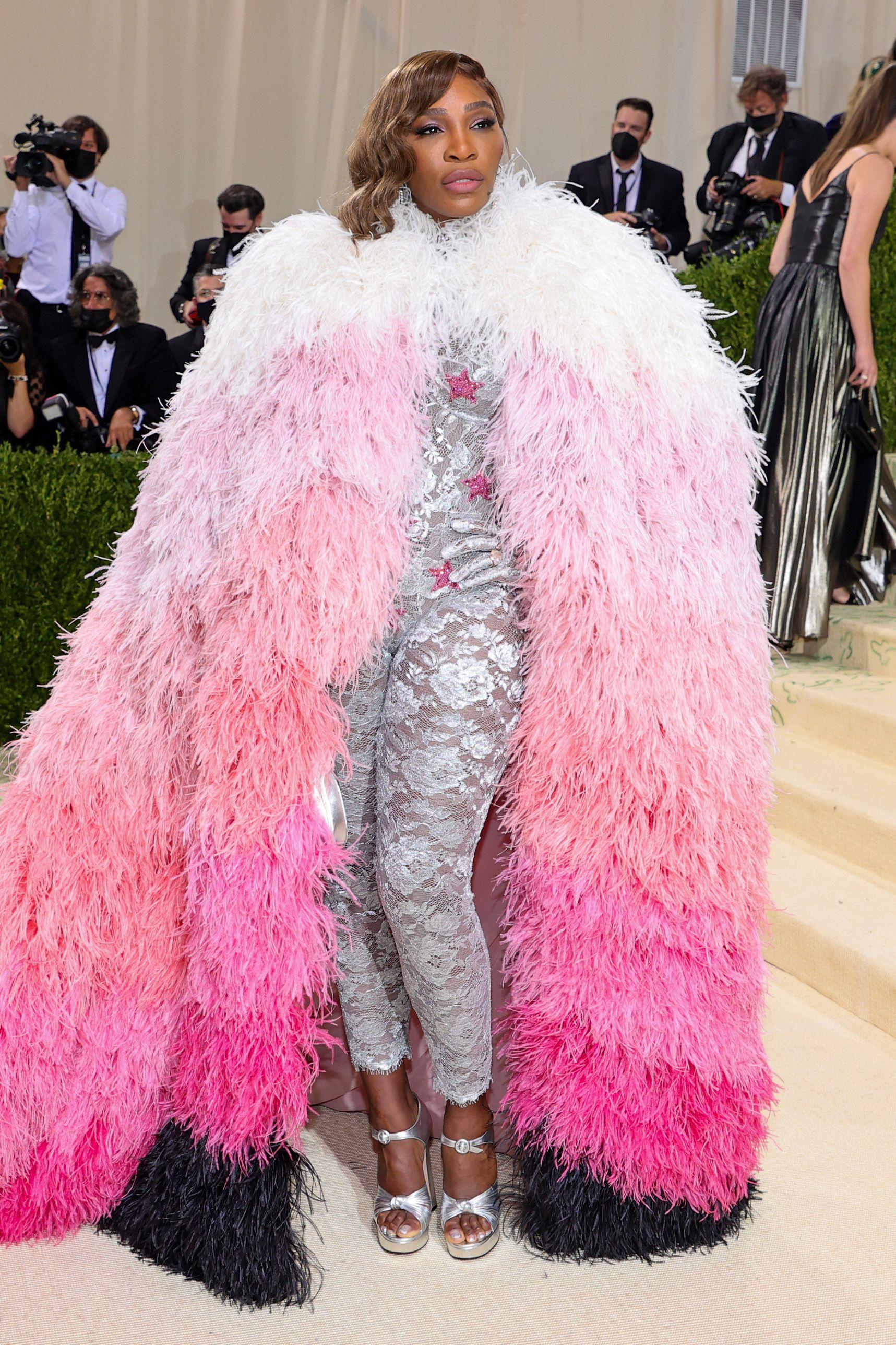 2021 gala u takua duke festuar në Amerikë një leksik të arritjeve të modës Serena Williams në Gucci