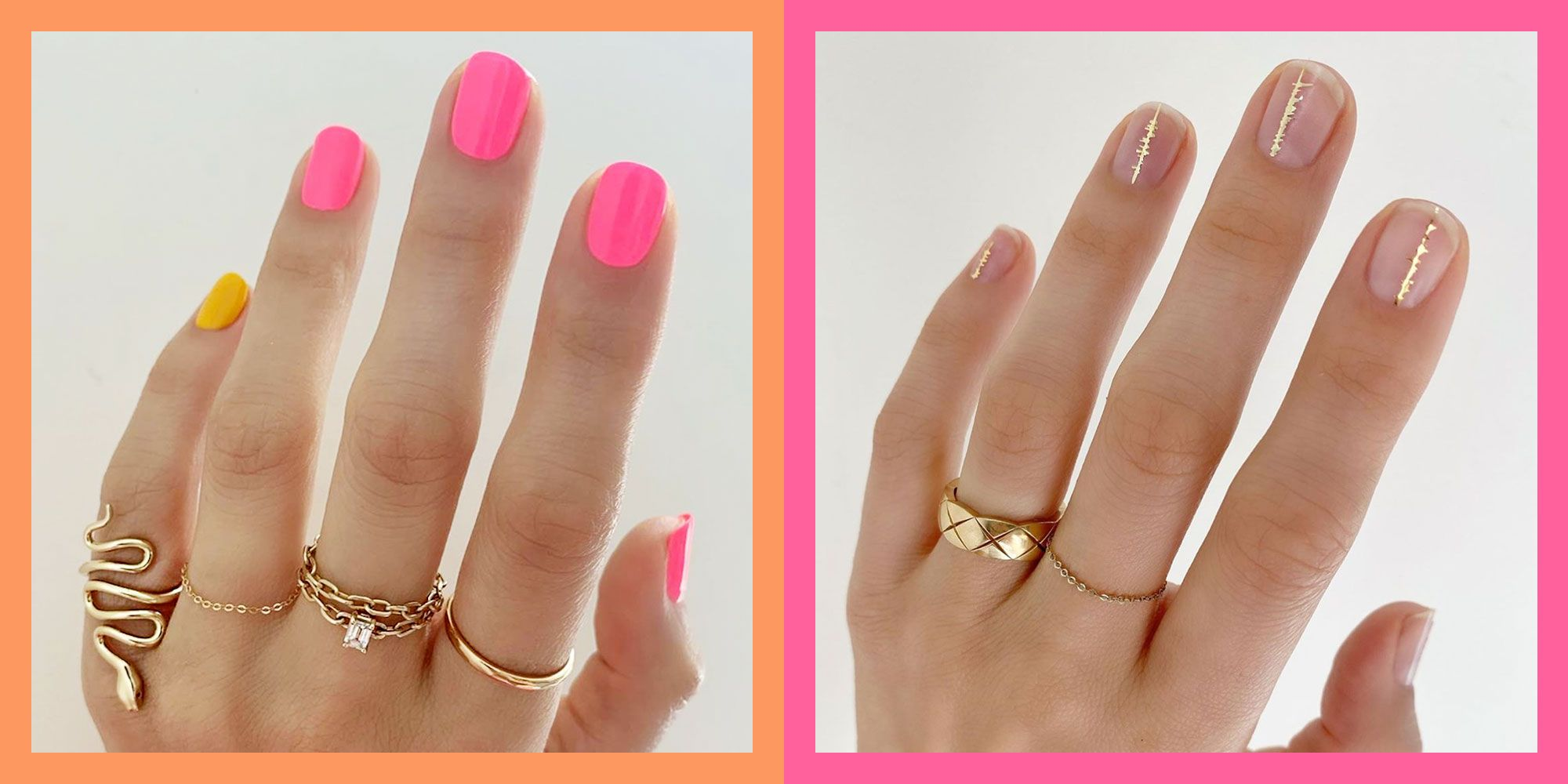 15 Best Short Nail Ideas And Designs For 2020