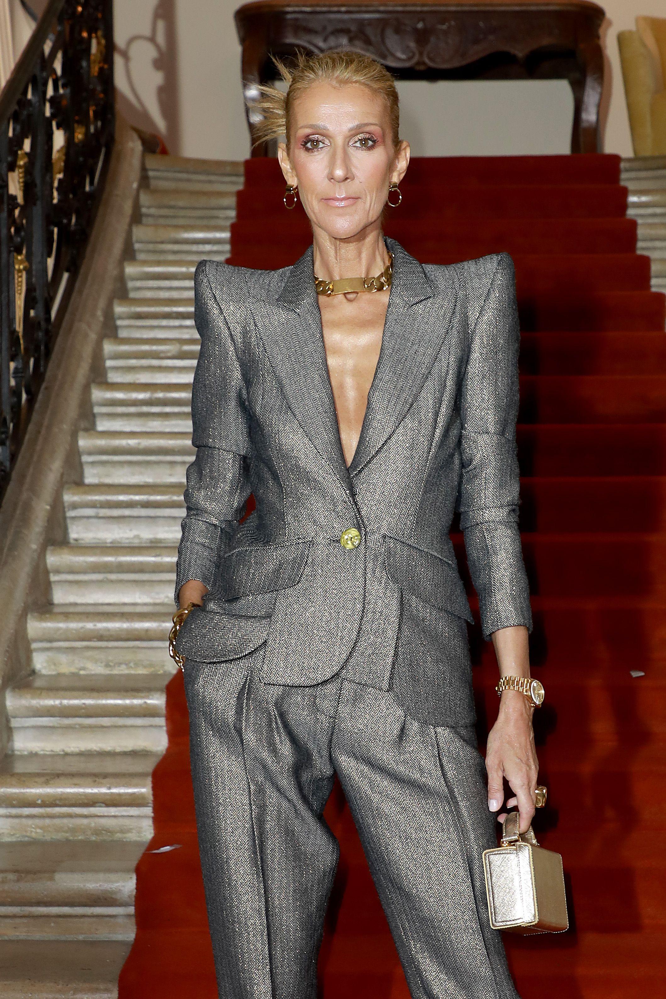 Celine Dion Slammed Body Shamers Who Called Her Too Skinny