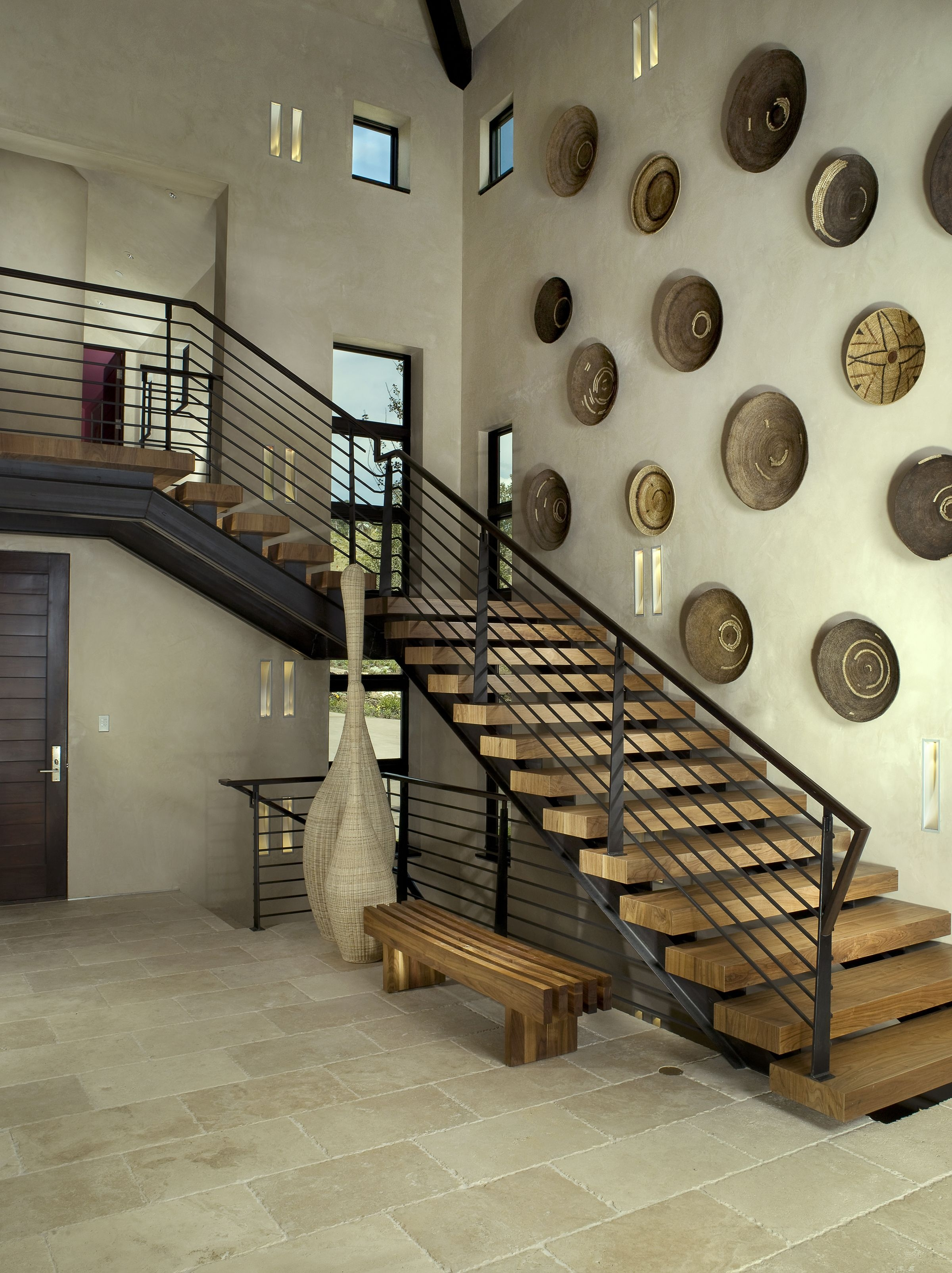 27 Stylish Staircase Decorating Ideas How To Decorate Stairways | Interior Design Staircase Wall | Luxurious Home | Unique | Beautiful | Fancy | Building Interior
