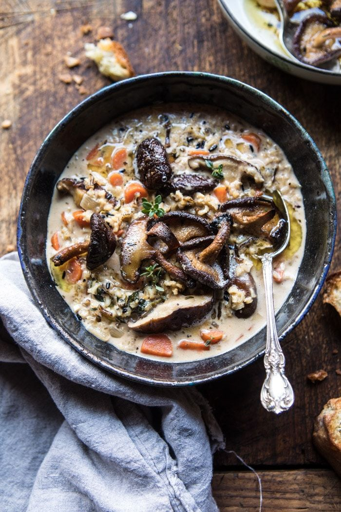 slow cooker soups wild rice