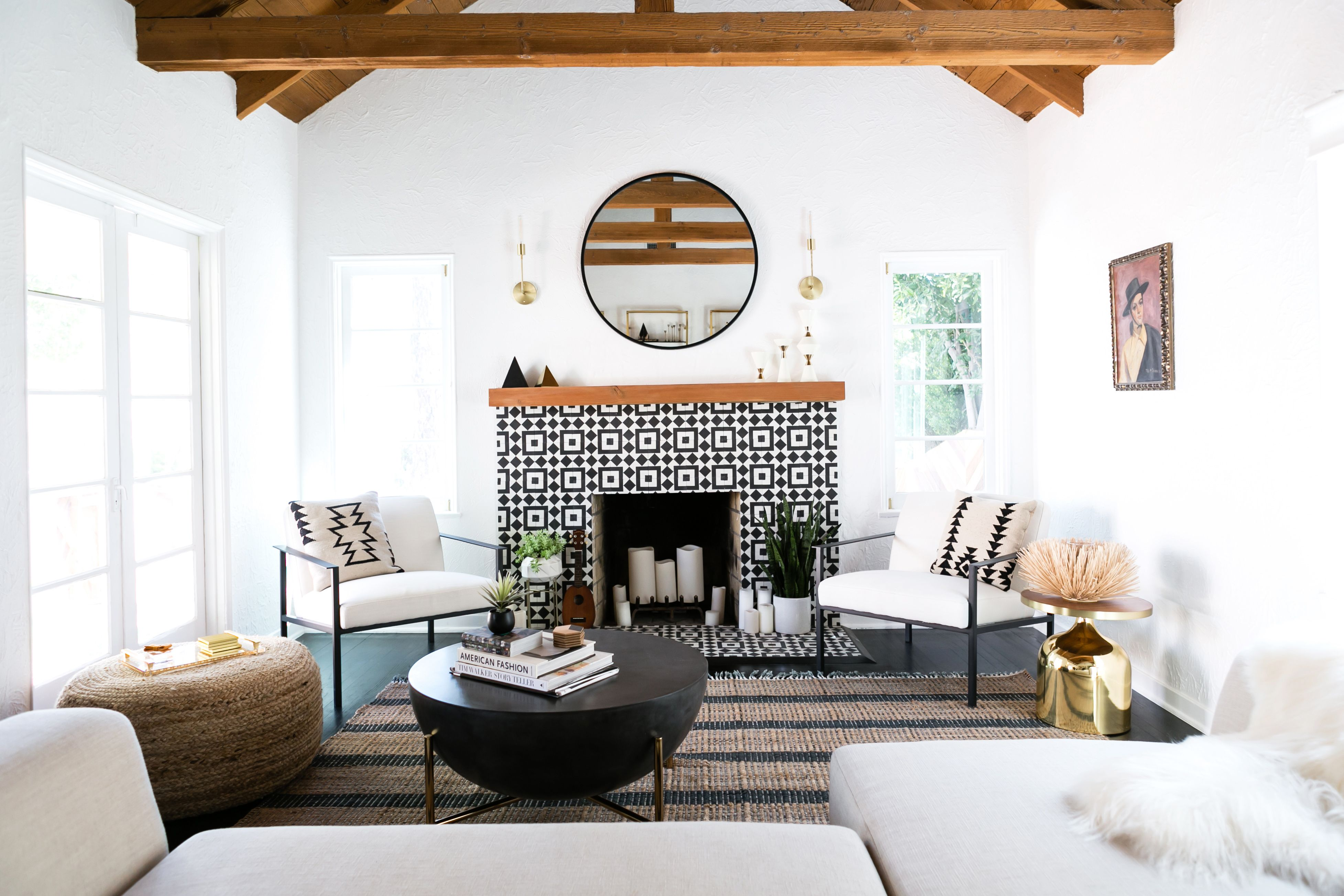 A Spanish Style Home Is Reimagined Home Makeover
