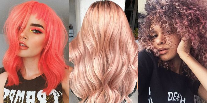 13 prettiest spring hair colors 2019 - new hair dye trends