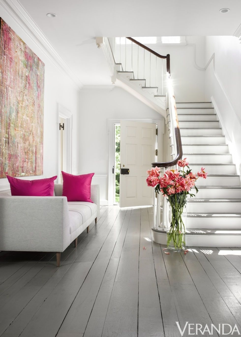 36 Stunning Staircases Ideas Gorgeous Staircase Home Designs   Modern Living Room With Stairs   Stylish   House   Mansion   Dining Room   Sleek Modern