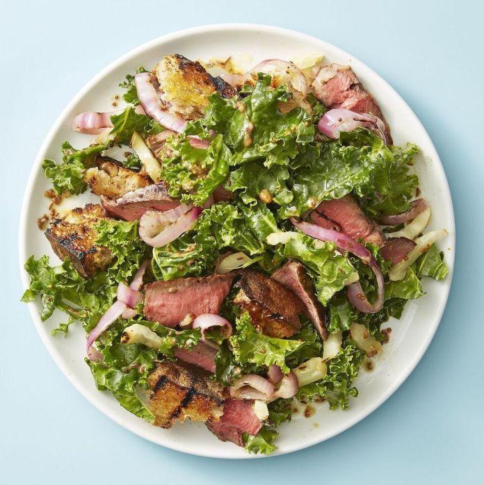 Dish, Food, Garden salad, Salad, Cuisine, Ingredient, Caesar salad, Leaf vegetable, Vegetable, Cruciferous vegetables,