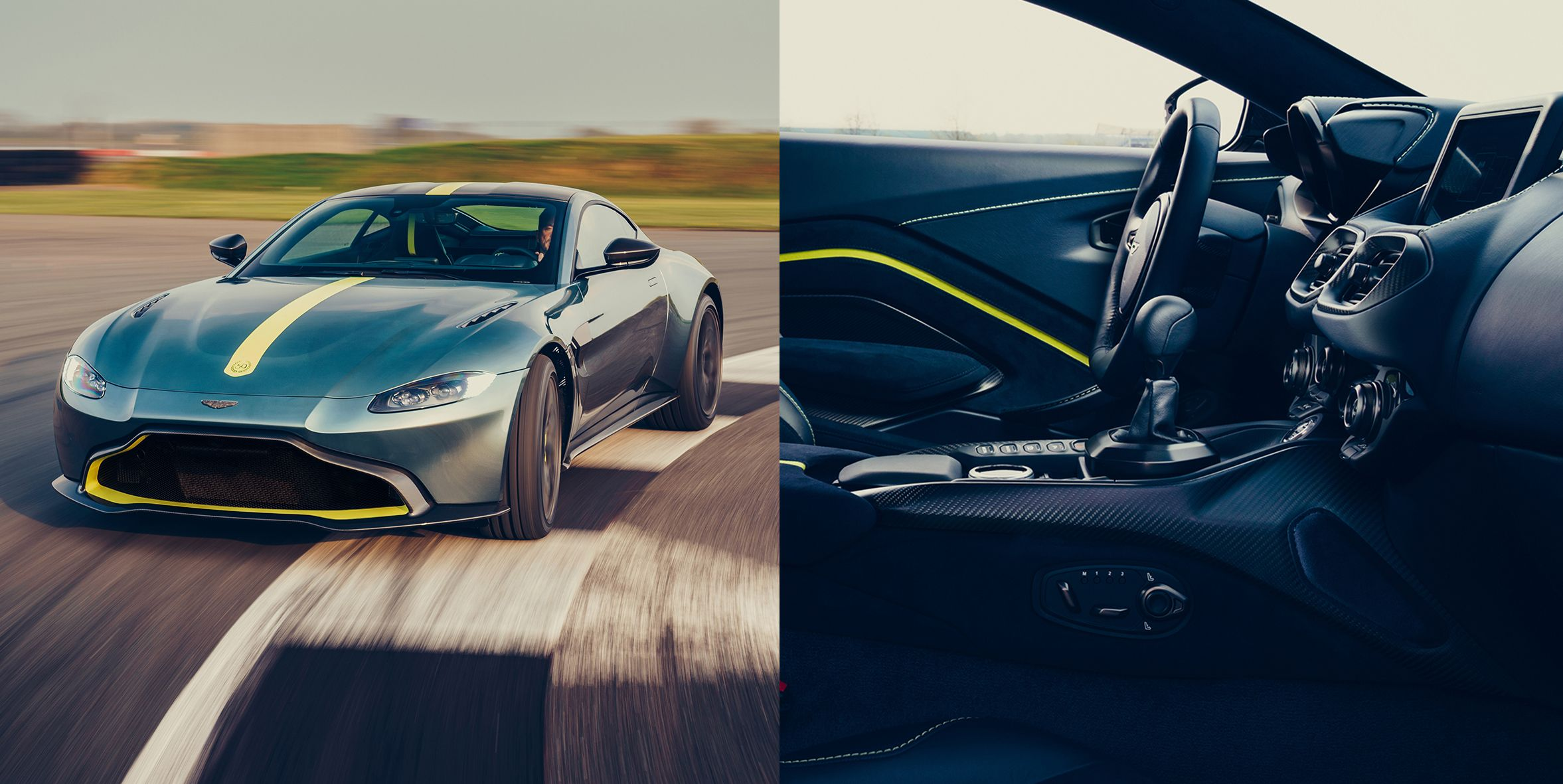 The Manual Aston Martin Vantage Is Finally Here