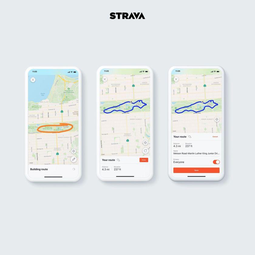 Strava Route Builder for Mobile