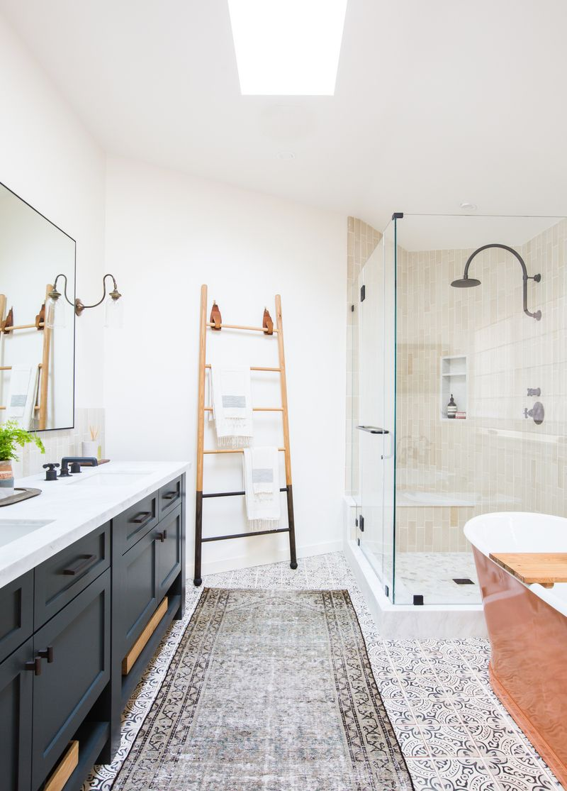 10 Best Farmhouse Bathroom Design Ideas Farmhouse Bathroom