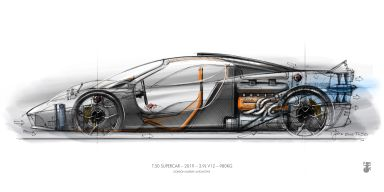Gordon Murray Wants to Race His New 12,000-RPM Supercar at Le Mans