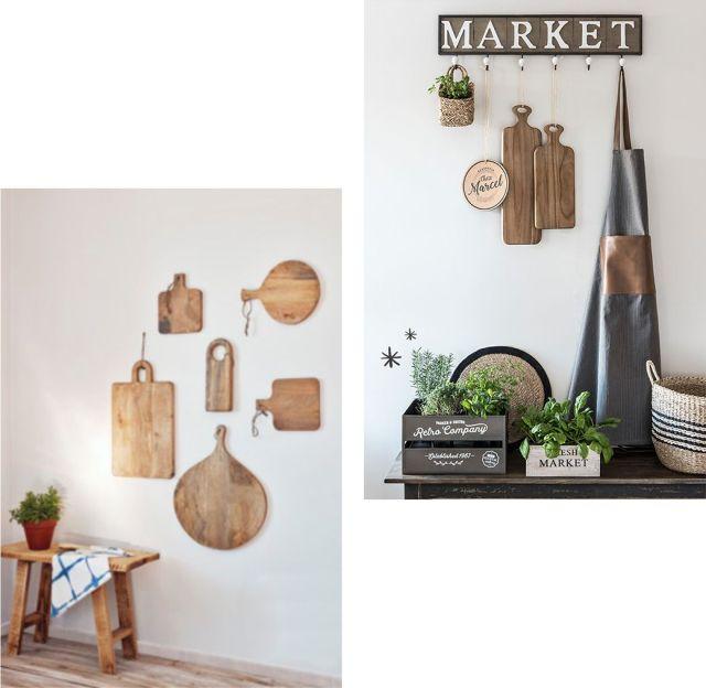 Ideas de decoración baratas - Decoración de paredes