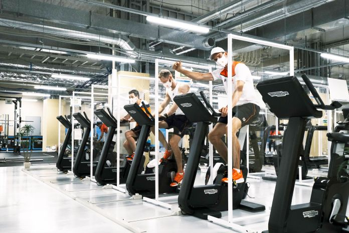 Behind The Scenes Of The Olympic Village'S Exercise Amenities