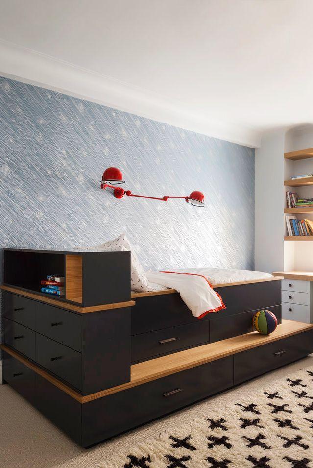 teen bedroom ideas - platform bed
