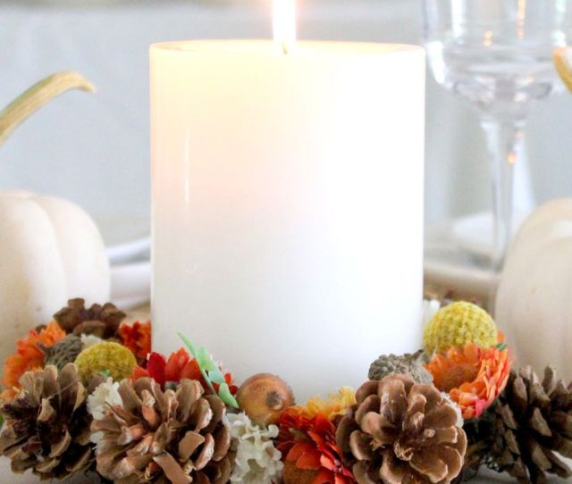 Easy Diy Thanksgiving Decorations Best Ideas For Thanksgiving Decorating