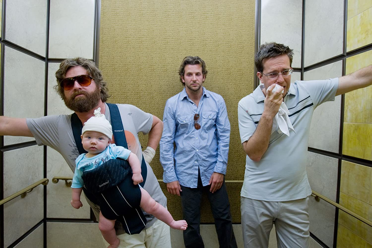 Elevator Scene in The Hangover