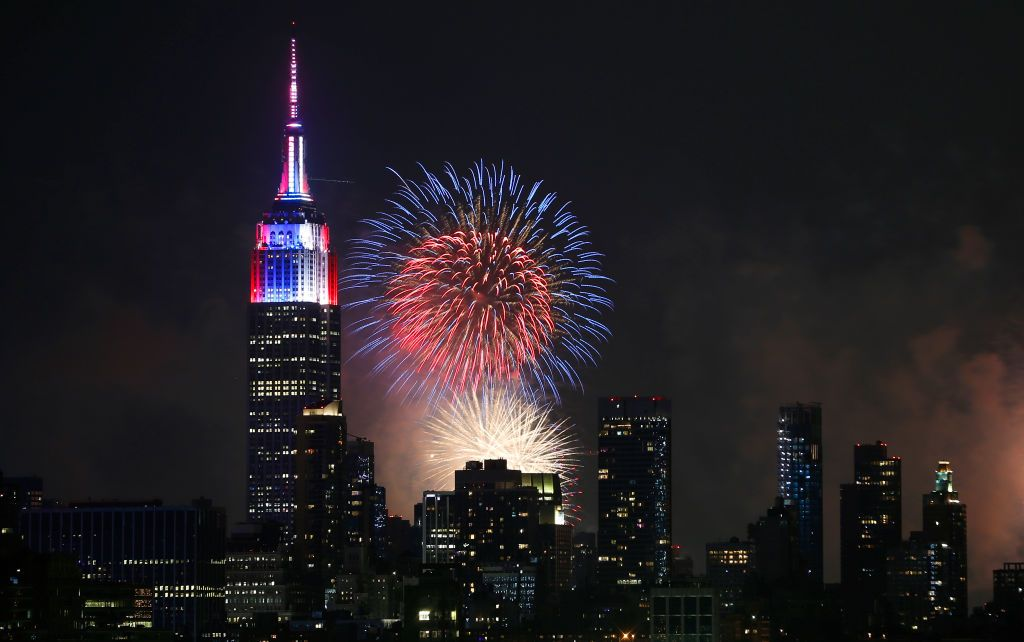 10 Best Fourth Of July Fireworks Around The US 2019