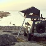 Thule Tepui Foothill Tent Fits On Car S Roof Folds To Half Size
