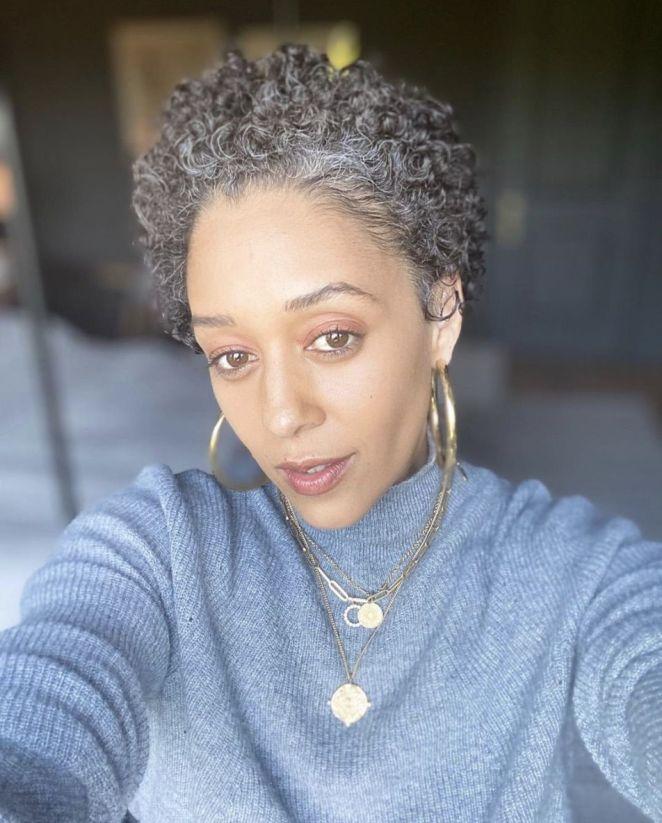 tia mowry gray hair