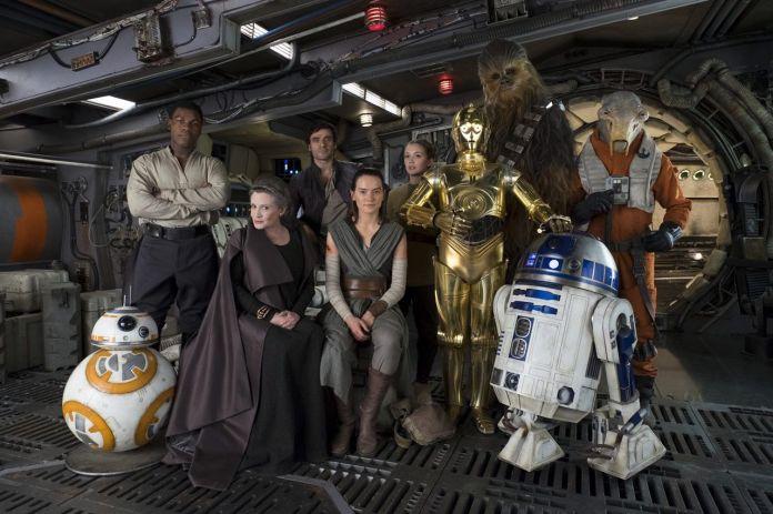 La Resistencia en Los Ultimos Jedi