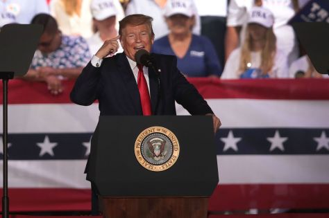 "Donald Trump Holds ""MAGA"" Rally In Panama City Beach, Florida"