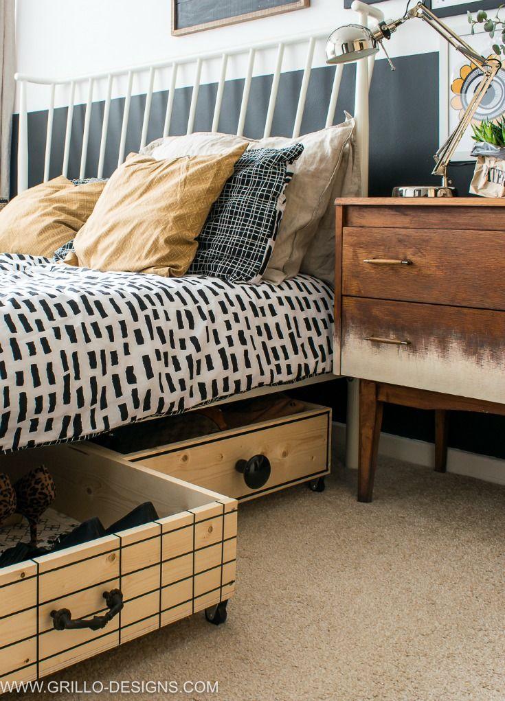 10 creative under bed storage ideas for