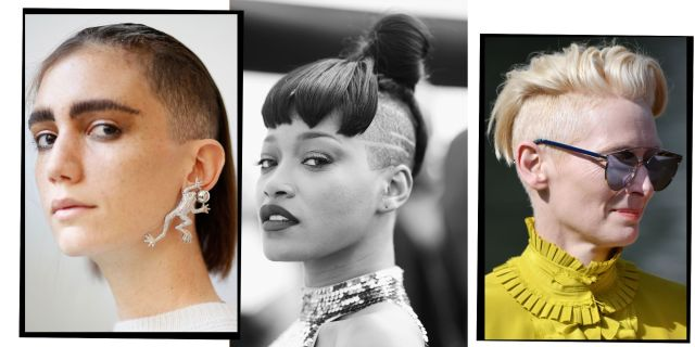 11 undercut hairstyles for women proving shaven heads are