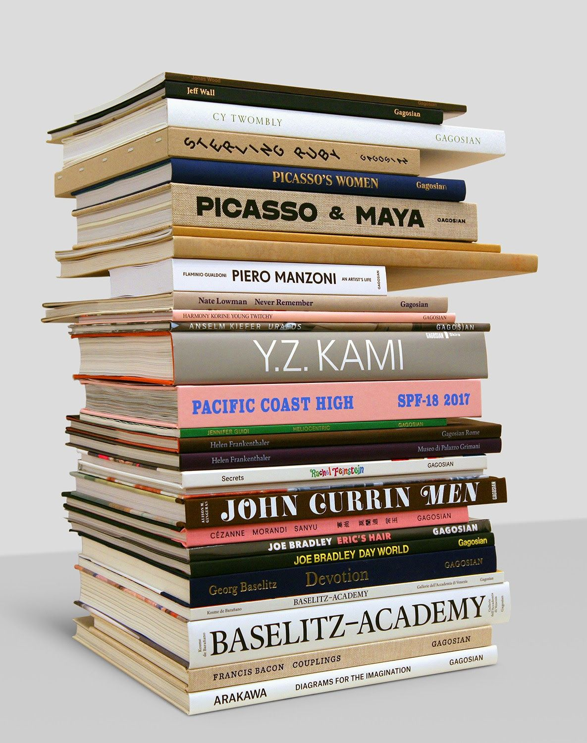 fashion and art coffee table books